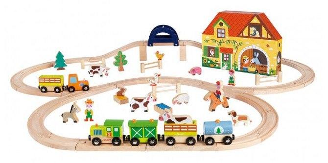 Železniška proga - kmetija