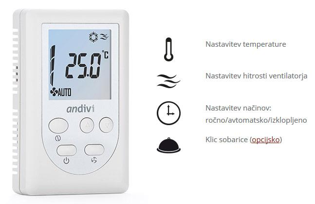 Pametni termostat Andivi