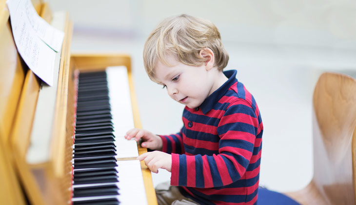 Vpliv glasbe na razvoj otroka