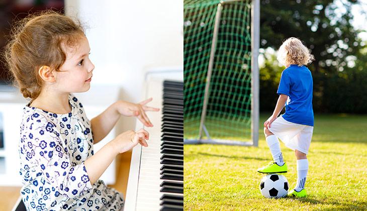 Glasbena šola ali šport
