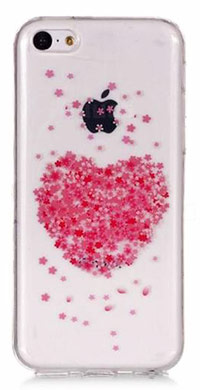 iPhone 6 Plus ovitek Cherry Heart